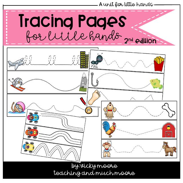 fine motor skills tracing practice
