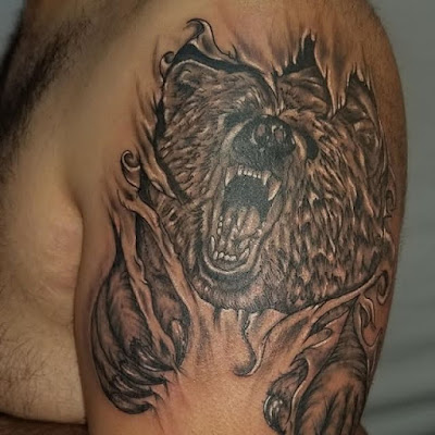 Tribal Bear Tattoo Meaning
