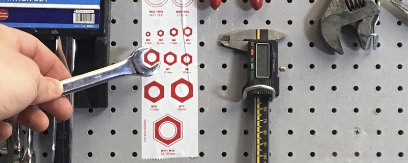 Tape/Stickers cinta de embalar con medidas útiles