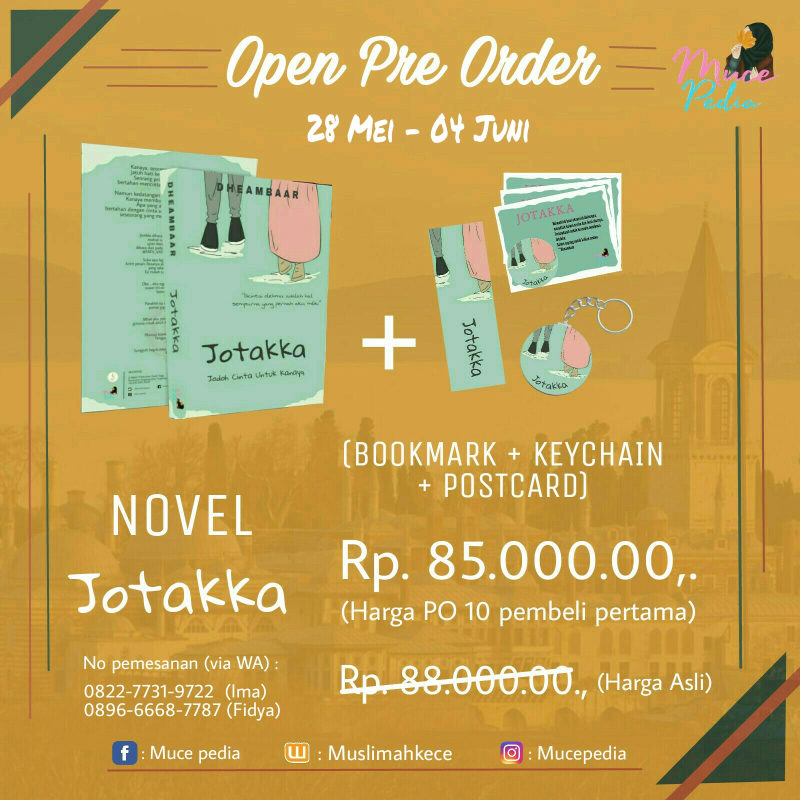 Khodijah Seff Cv Salam Solutions Promosi Novel Jotakka Karya Dheambaar