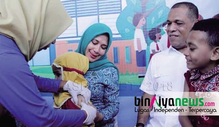 Bupati: Jangan Anggap Enteng Penyakit Sarampa
