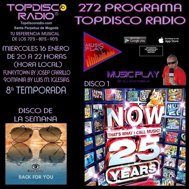 272 Programa Topdisco Radio
