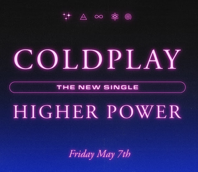 Coldplay  Higher Power Single Cover