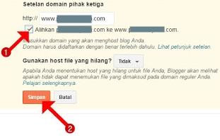 Cara mengalihkan domain non www ke domain www