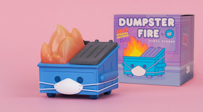 Dumpster Fire 2020 Special Edition Vinyl Figure by 100% Soft