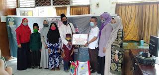 Dinsos Kabupaten Batanghari Berikan Bantuan Kepada LKSA Secara Simbolis