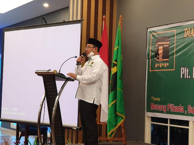 Suharso Monoarfa Nilai Ajak Kader Partai Persatuan Pembangunan Tingkatkan Silaturahmi dan Dialog
