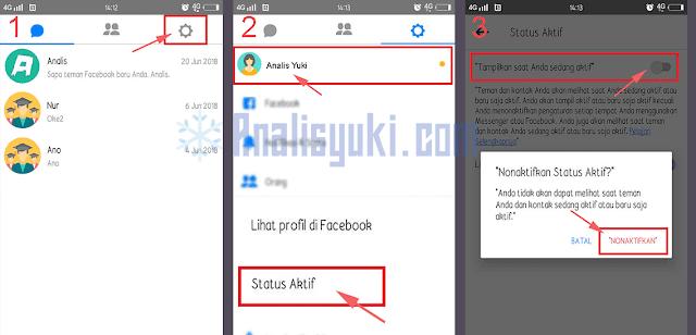 Cara Menyembunyikan Status Online di Facebook