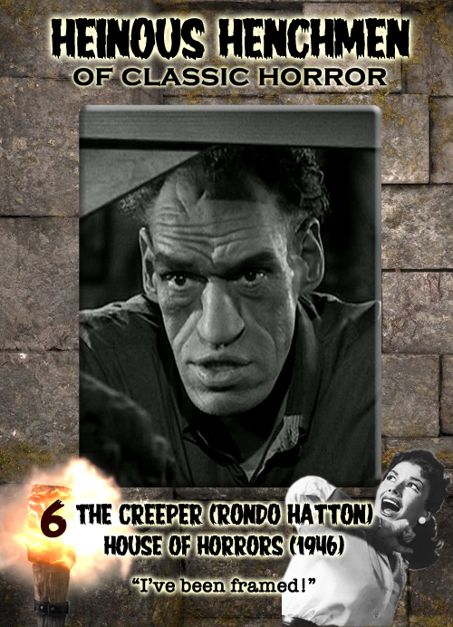 Rondo Hatton as the Creeper in House of Horrors (1946)