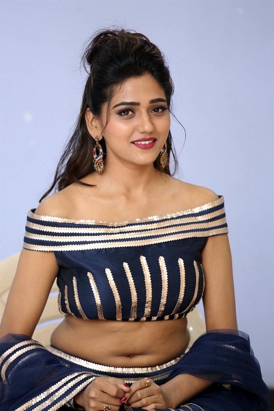 Indian Actress Shalu Chourasiya at Telugu Movie Pre Release Function