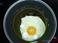 Friendo el huevo