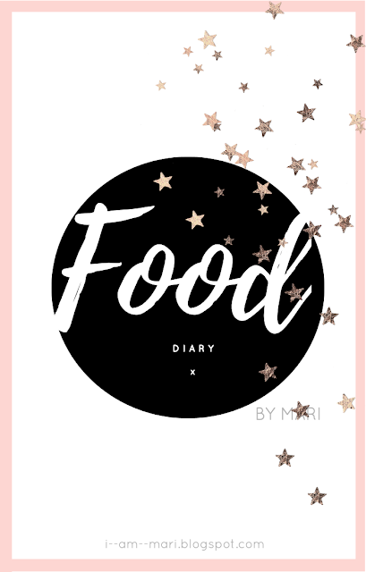 Food Diary #1