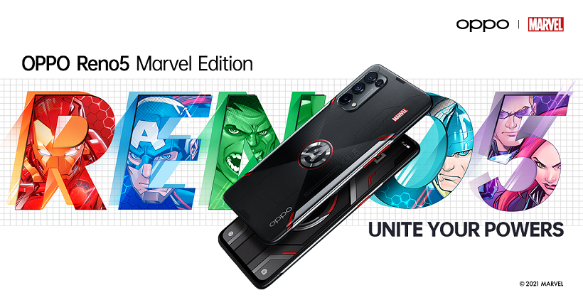 #UniteYourPowers: OPPO Reno5 Marvel Edition now available at ₱19,999