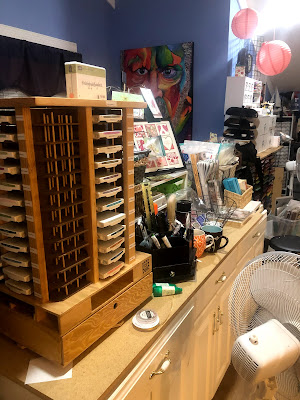 Rick Adkins Independent Stampin' Up! Demonstrator, Studio Tour 2020, Organization tips