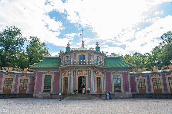Estocolmo. Pabellon chino del palacio Drottningholm