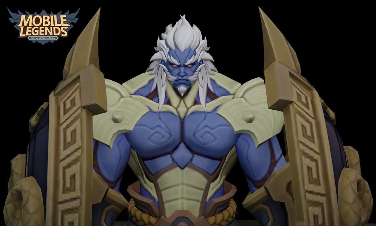 Bixi Baxia - Hero Role Tank yang dengan Skill Figther Abis