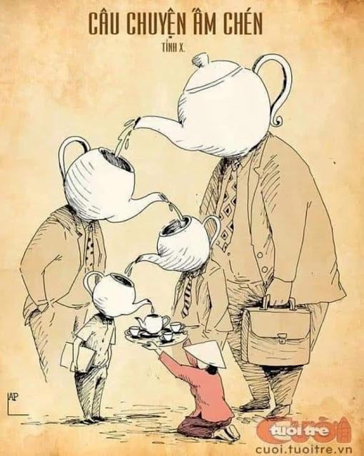 Câu chuyện tình chim chuột giữa ấm chén và đĩa xôi thịt