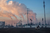 A coal-fired power plant in Shanxi, China, in 2015. (Credit: nytimes.com) Click to Enlarge.