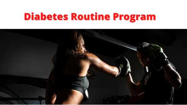 Diabetes workout routine
