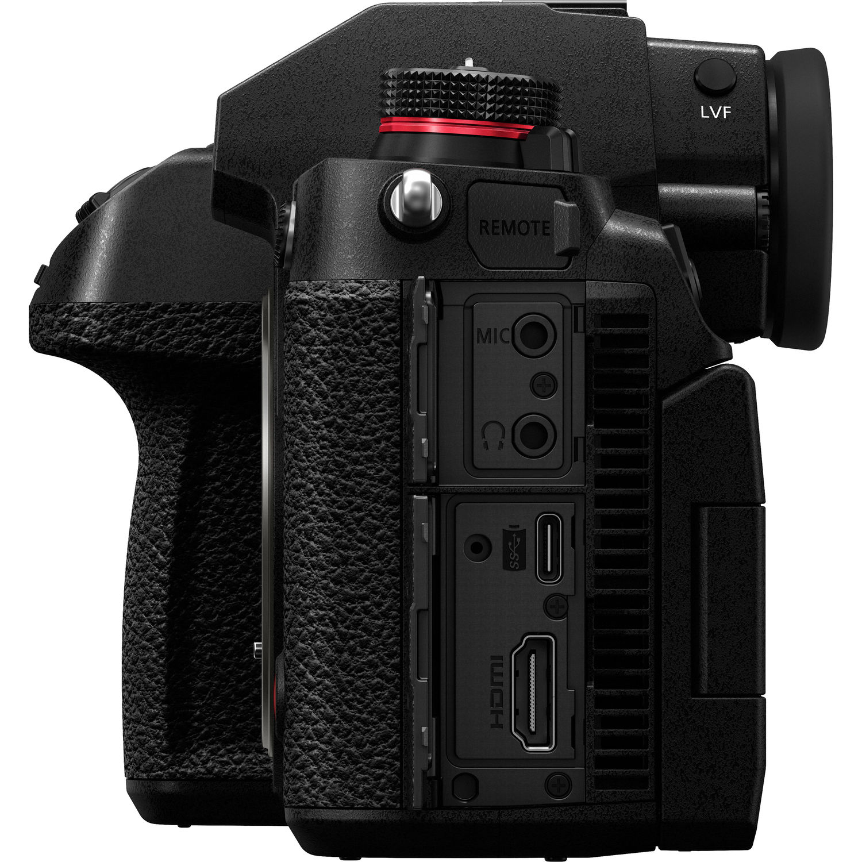 Разъемы Panasonic Lumix S1H
