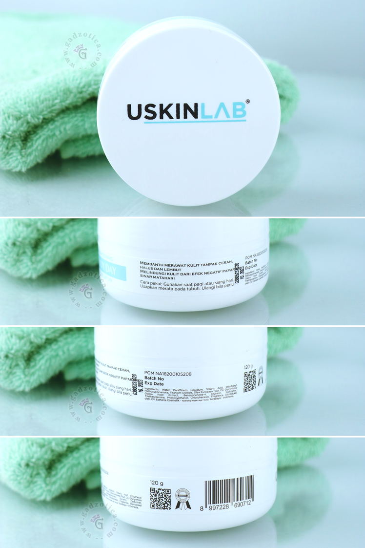 Review USkinlab Tone Up UV Brightening Body Day