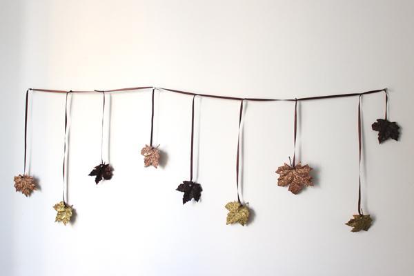 Elegant Thanksgiving garland ideas