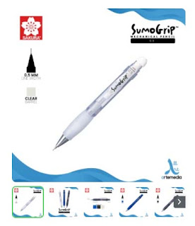 Pensil Mekanik Sakura Sumogrip