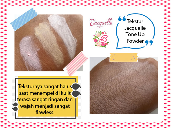 Tekstur Jacquelle Tone Up Powder