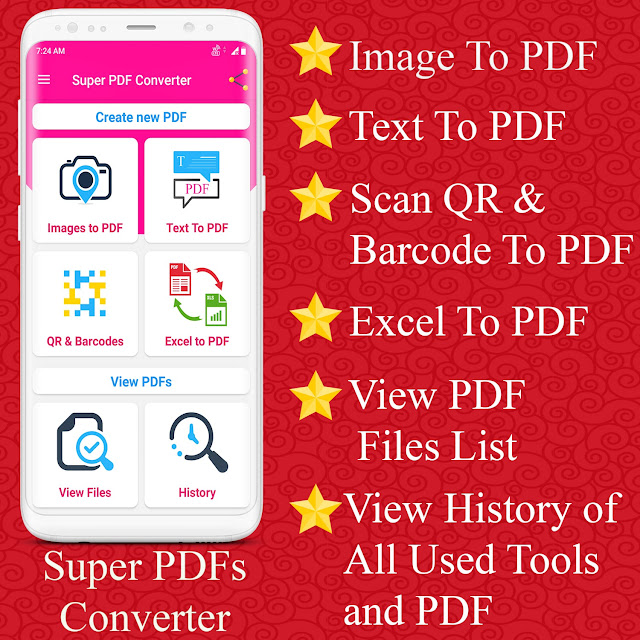 Super PDF Converter Android App - Professional PDF Editor And Creator Ready - 1