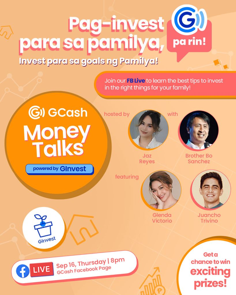 GCash Teaches You How To Invest for the Family poster