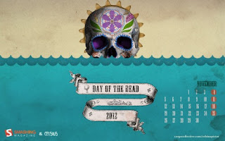 Desktop Wallpaper Calendar : November 2012 (Smashing Magazine)