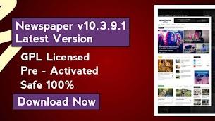Newspaper WordPress Theme v10.4 ( Latest Version ) Download