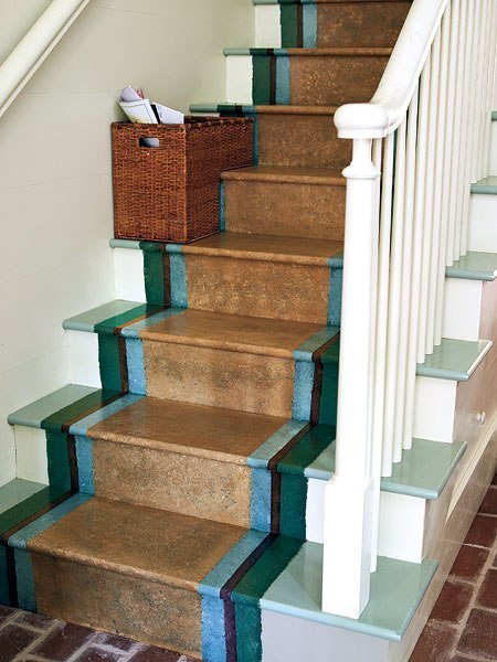 The staircase steps decor ideas ~ Home Decorating Ideas