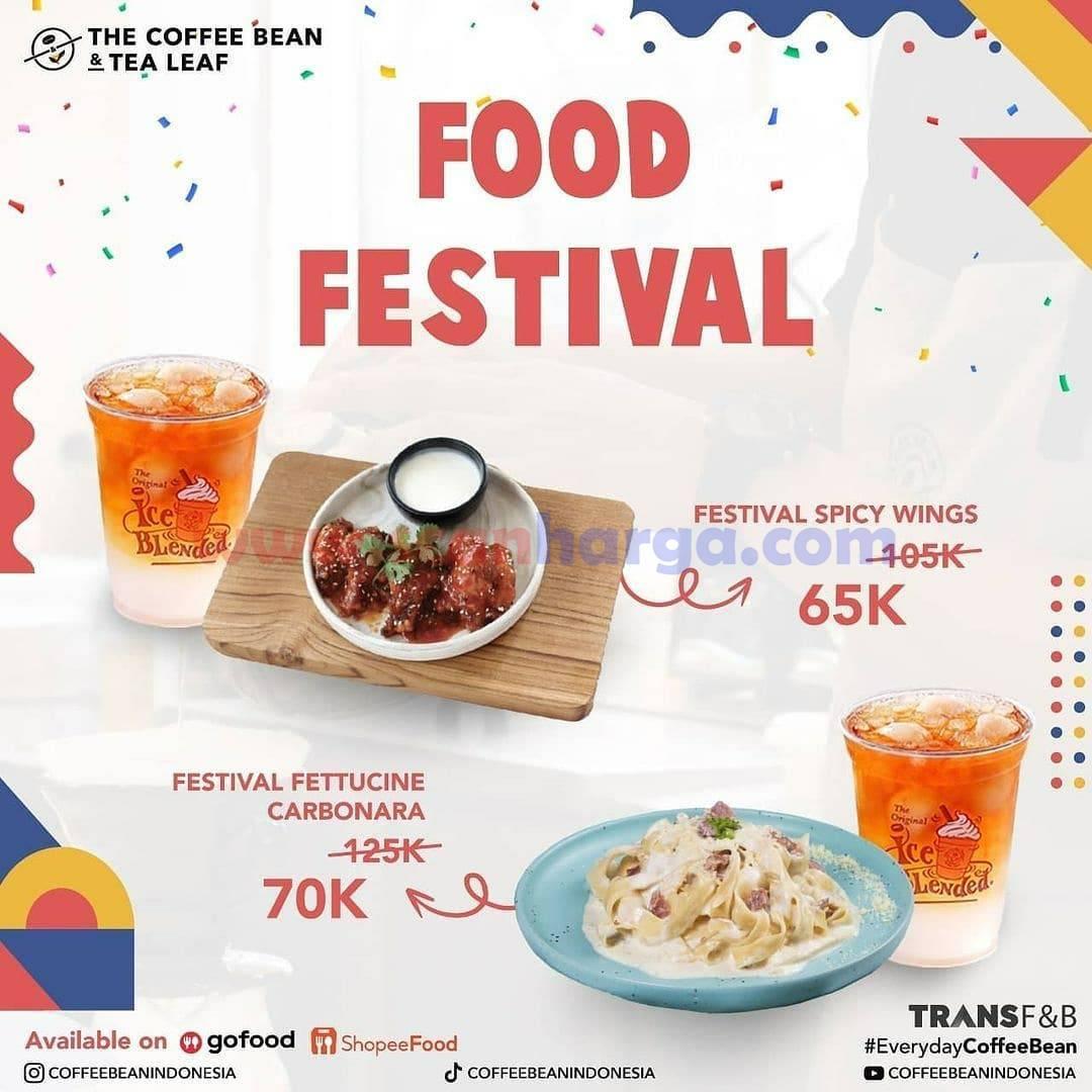 The Coffee Bean Food Festival hingga 15 November 2021 2