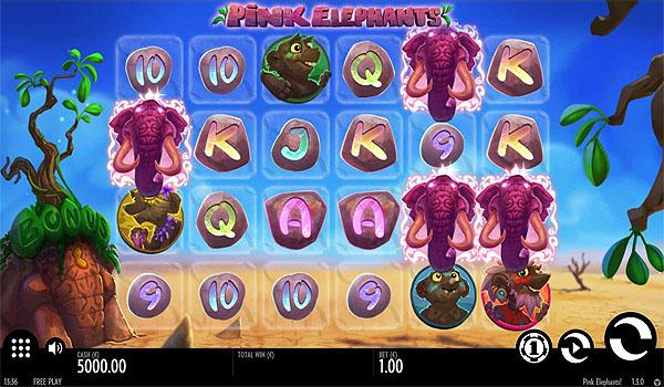 Main Gratis Slot Indonesia - Pink Elephants (Thunderkick)