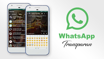 Download WhatsApp Transparan Prime APK Versi 9.65 Terbaru