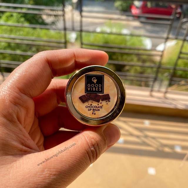 Good Vibes Chocolate Lip Balm Review