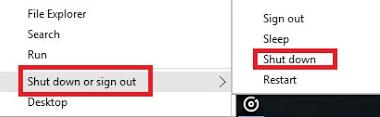 Cara Cepat Shut Down di Windows 10