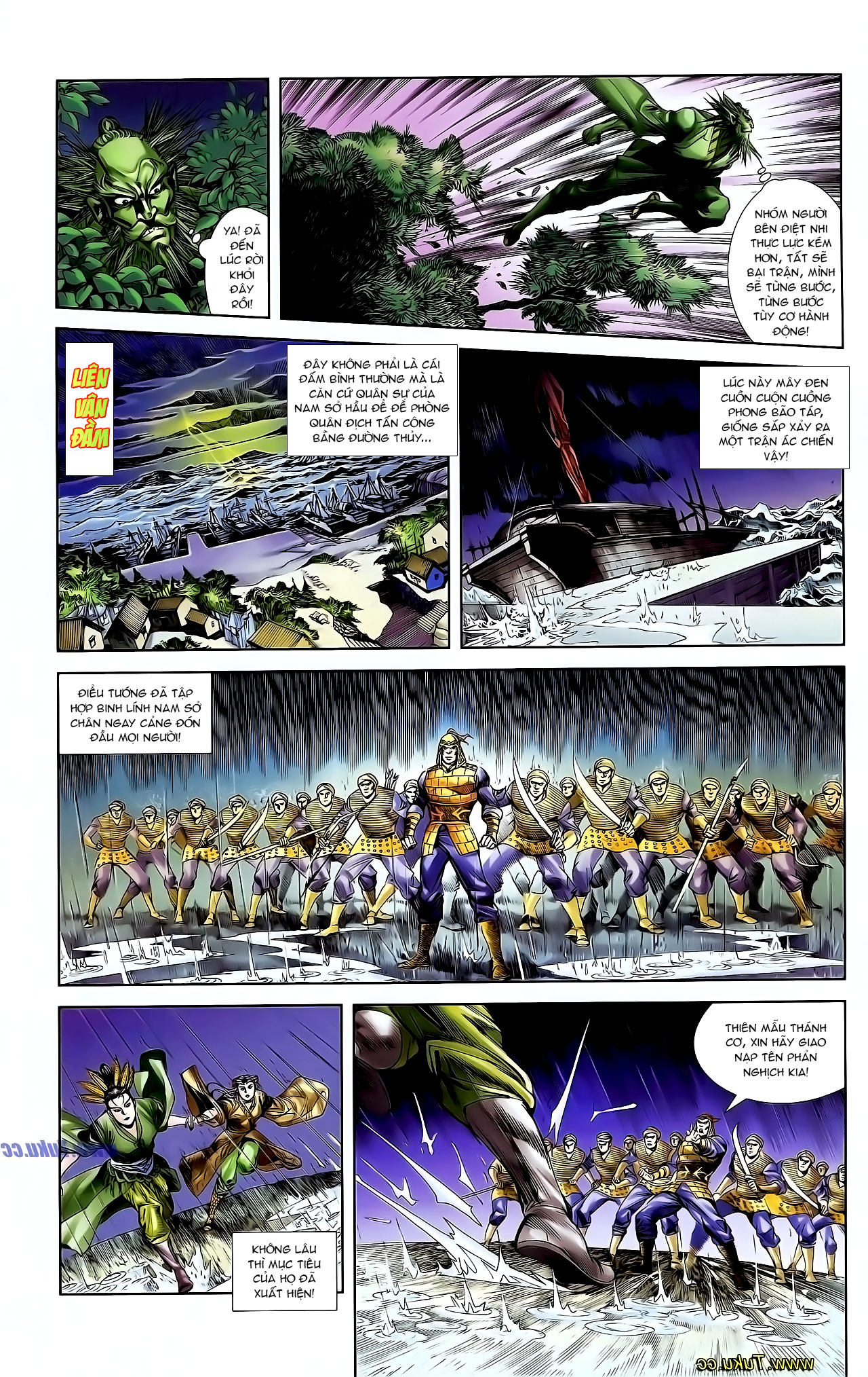 Cơ Phát Khai Chu Bản chapter 128 trang 18