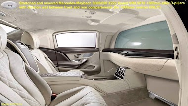 Stretched and Armored Maybach S600