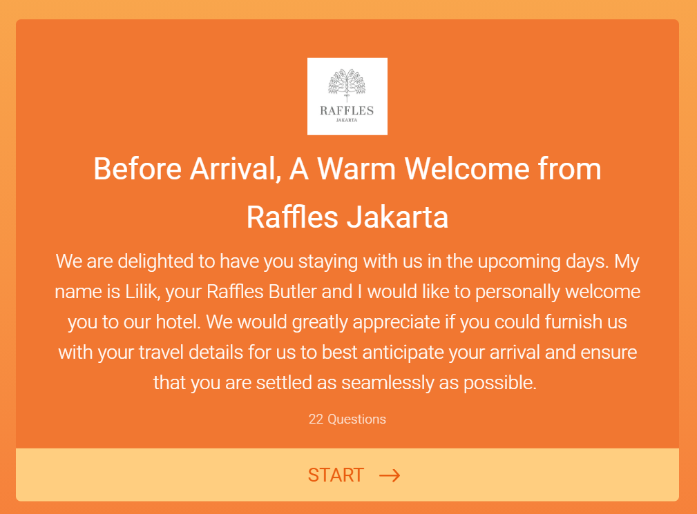 Review Raffles Jakarta The Story Of My Life
