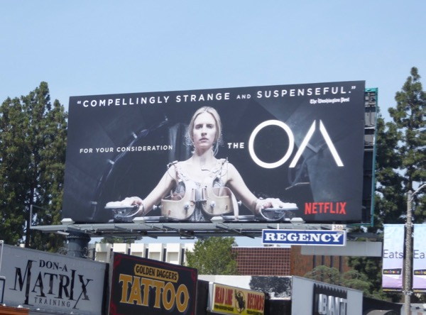 The OA season 1 Emmy billboard