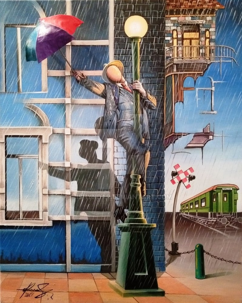 10-Singing-in-the-Rain-Raceanu-Mihai-Adrian-Ishyndar-Mapping-Surrealism-with-Oil-on-Canvas-www-designstack-co