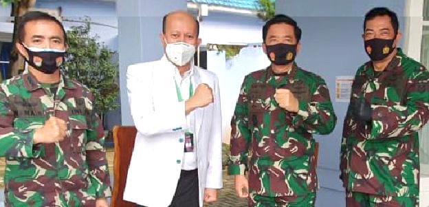 Panglima TNI Dukung Uji Klinik Terapi Secretom Bagi Penderita Covid-19