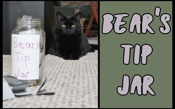Bear's tip jar