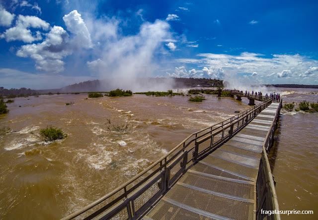 Cataratas do Iguaçu, lado argentino, trilha para a Garganta do Diabo