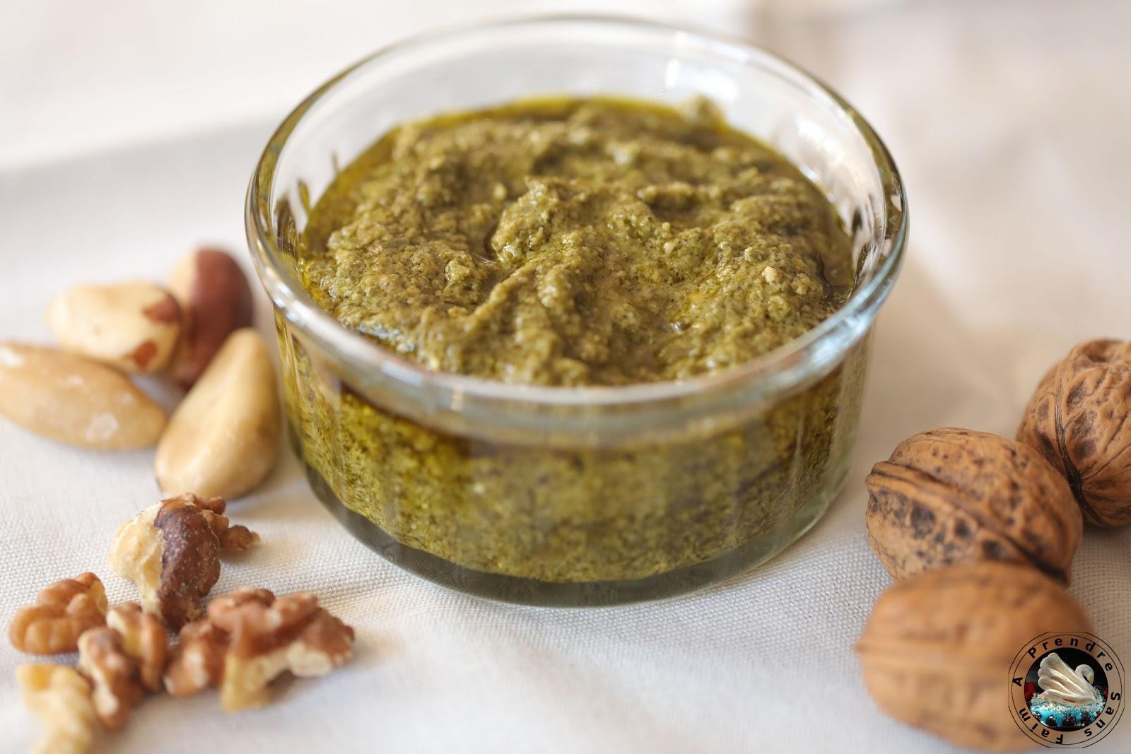Pesto aux noix