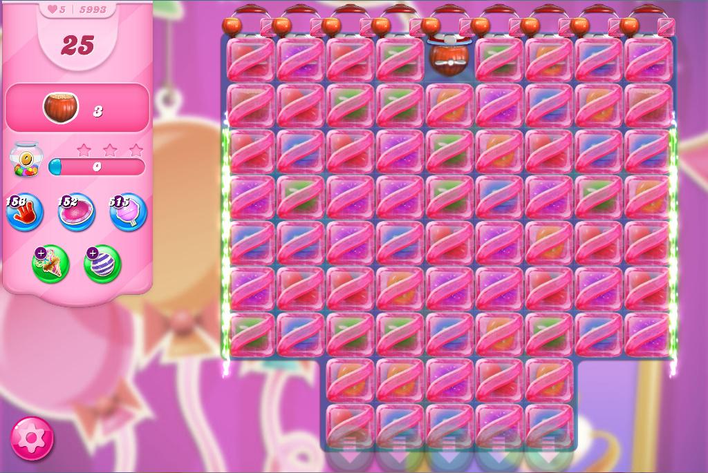Candy Crush Saga level 5993