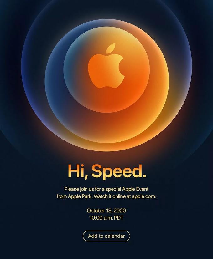 Apple จะทำการเปิดตัว iPhone รุ่นล่าสุดในวันที่ 13 ตุลาคม 2020  ?