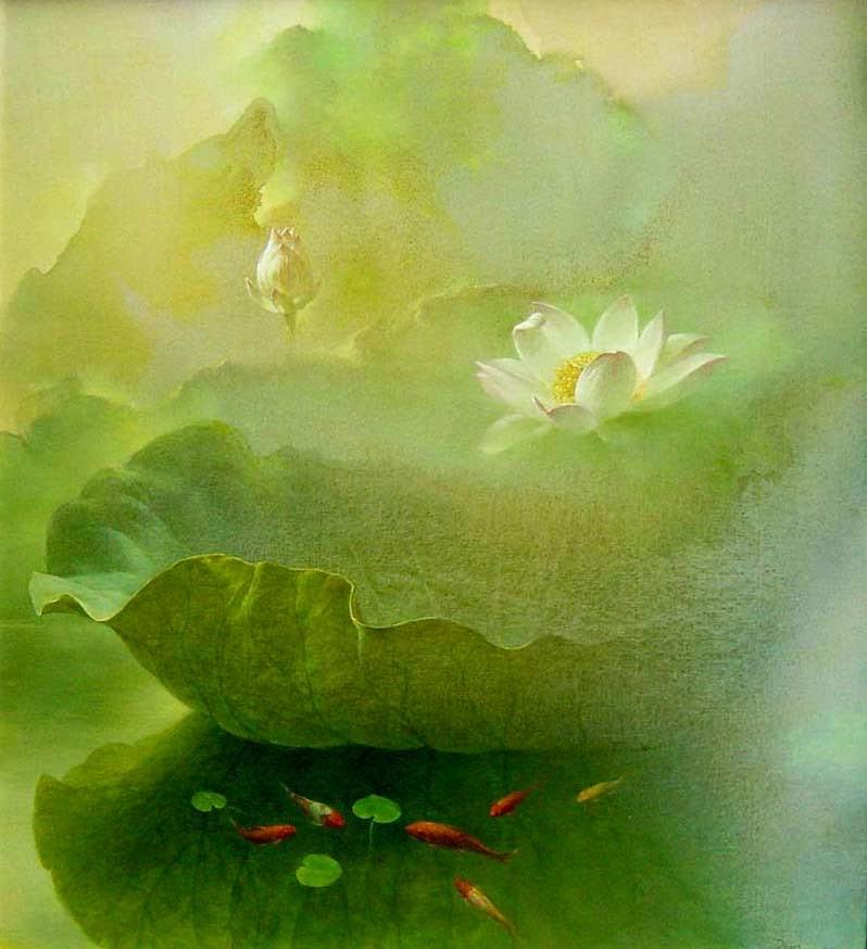 Flor de Lótus - Pinturas
